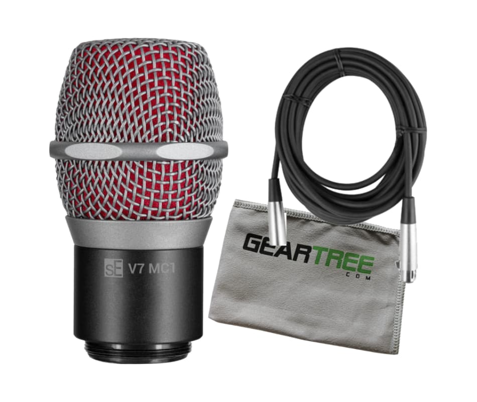 sE Electronics V7 MC1 (w/Shure Wireless Mics) Caps
