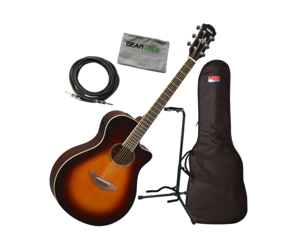 Yamaha APX600 OVS Thin Body Acoustic-Electric Guit
