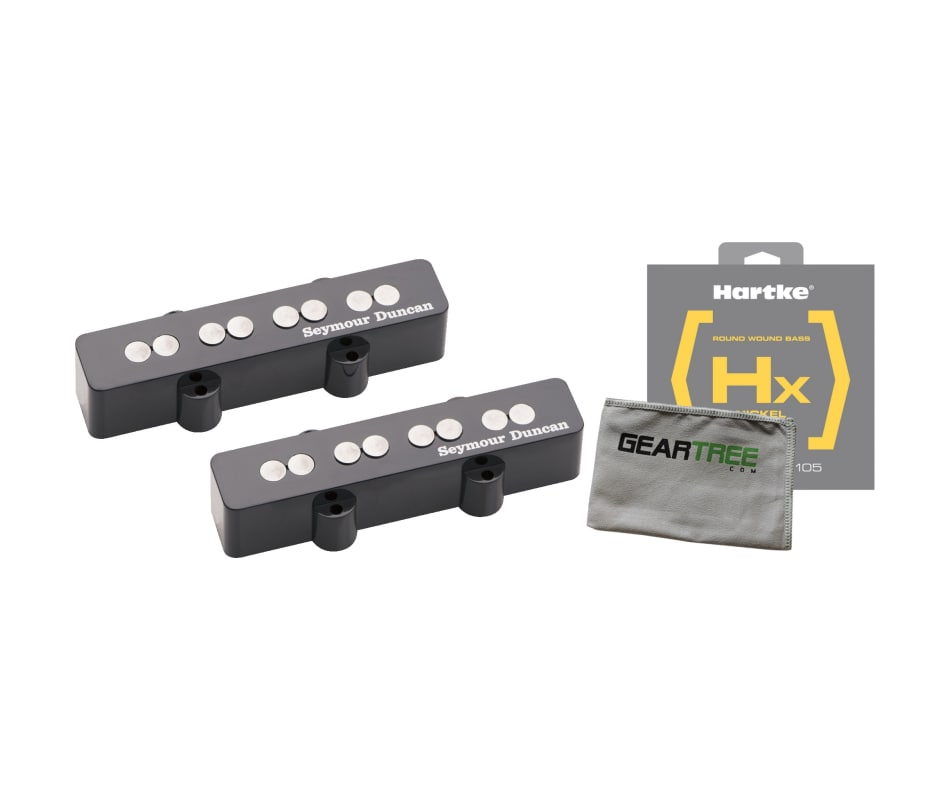 Quarter Pound Jazz Bass Pickup Bundle