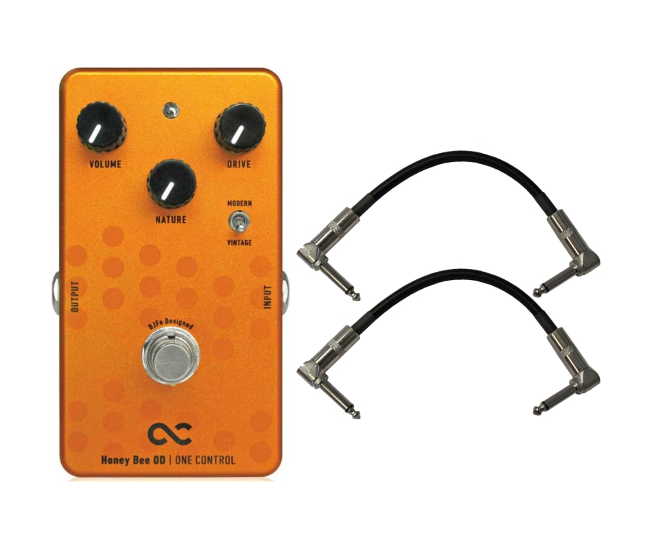 Honey Bee Overdrive Effect Pedal Bundle