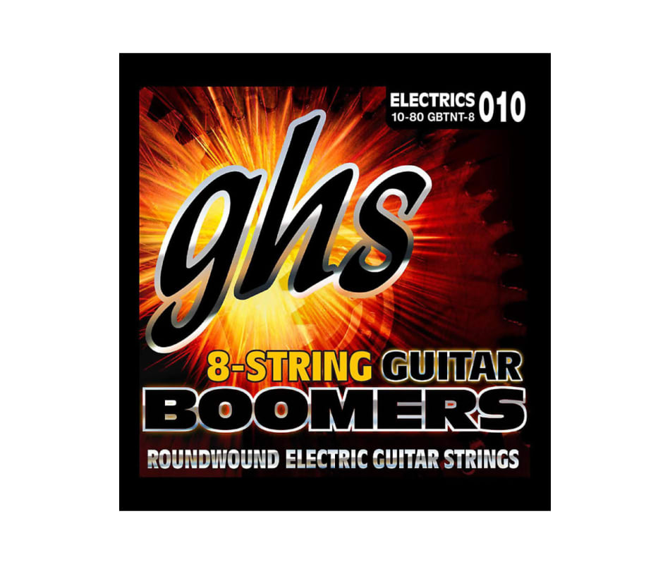 Boomers GBTNT-8 8 String Thin/Thick Elec Strings