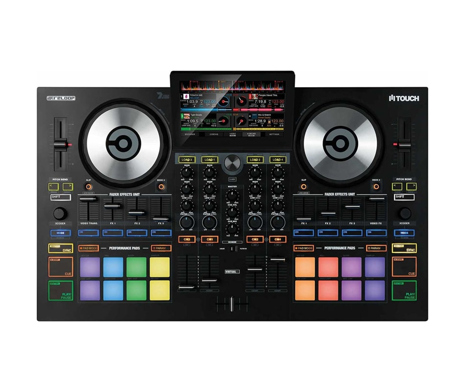 Reloop Touch Touch Screen DJ Controller for Virtua