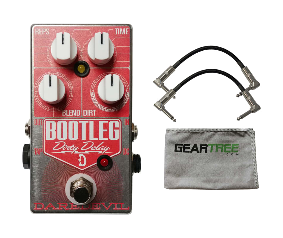 Daredevil Bootleg Dirty Delay Pedal w/ Geartree Cl