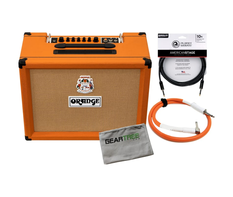 Orange TREMLORD-30 Amplifier with Polish Cloth and