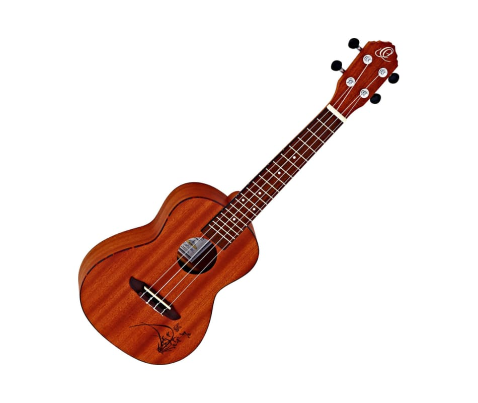 Ortega Guitars RU5MM Bonfire Series Concert Ukulel