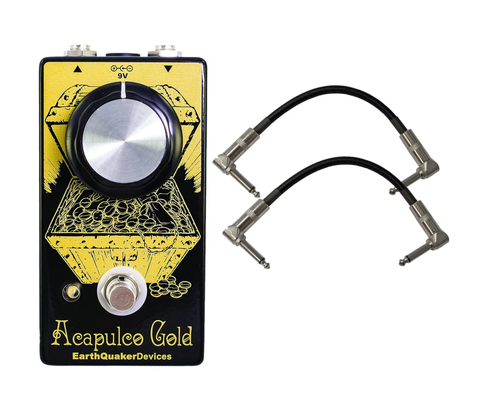 Earthquaker Devices V2 Acapulco Gold Power Amp Ped