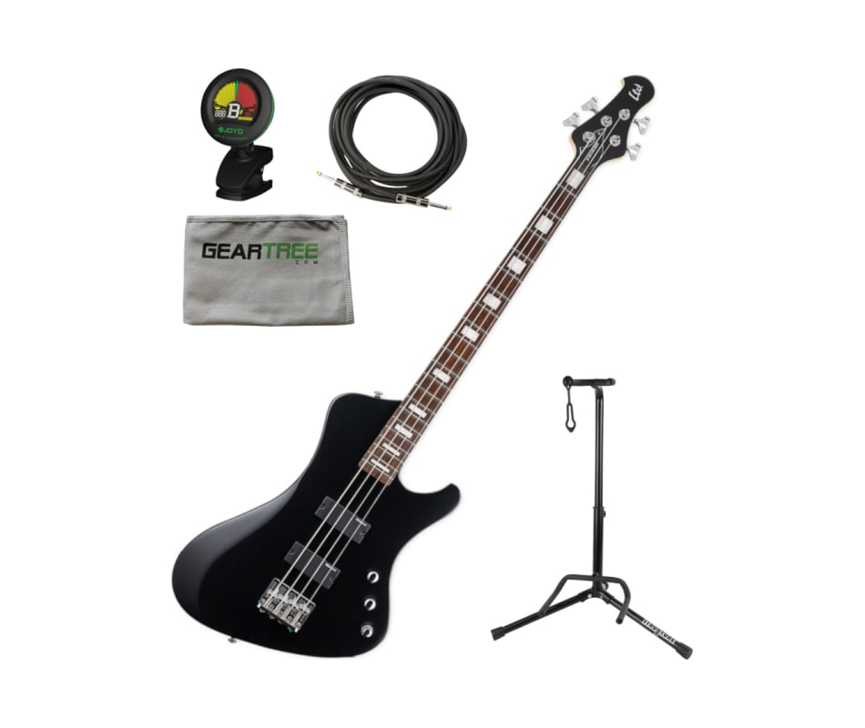 ESP LTD LSTREAM204BLKS LTD STREAM-204 BLKS Bass w/