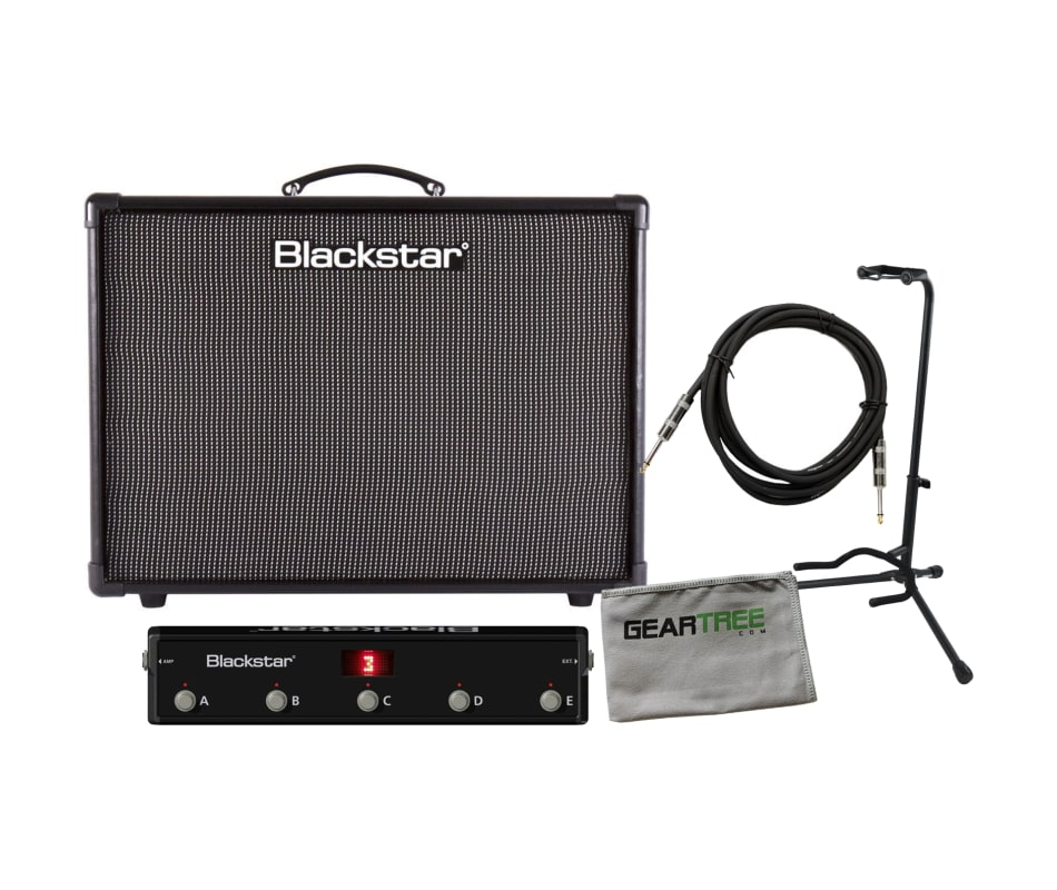 IDCORE 150 Stereo Combo Guitar Amplifier Bundle