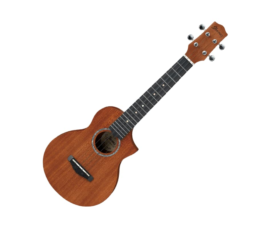 Ibanez UEW5 UEW Open Pore Natural Acoustic Ukulele