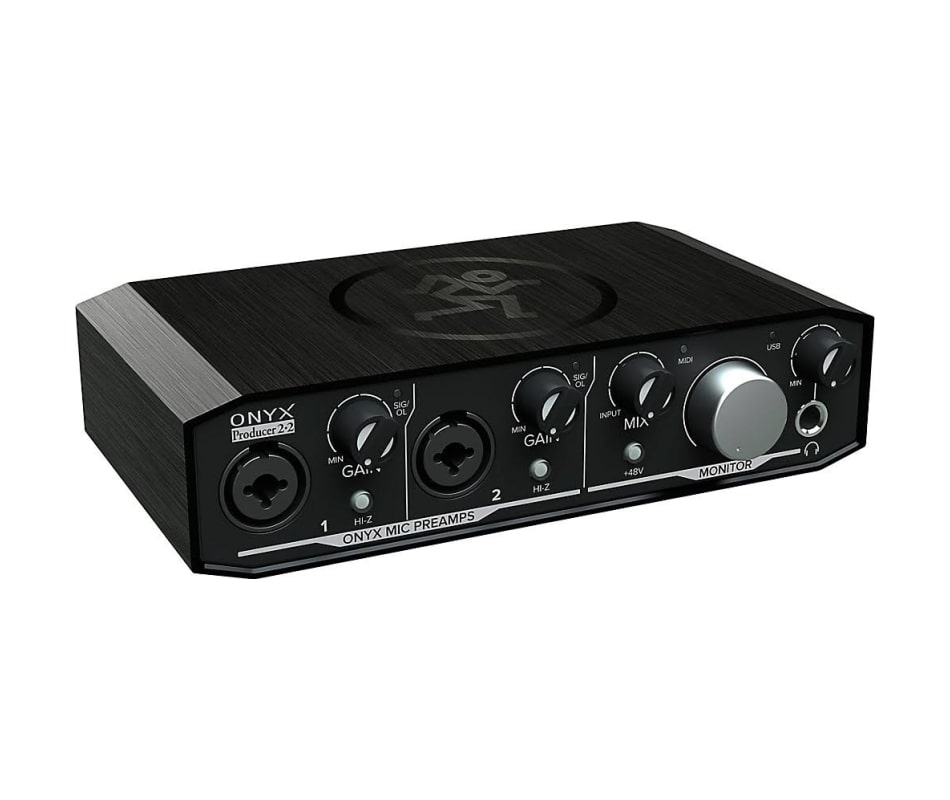 Onyx Producer 2-2 2x2 USB Audio Interface w/ MIDI