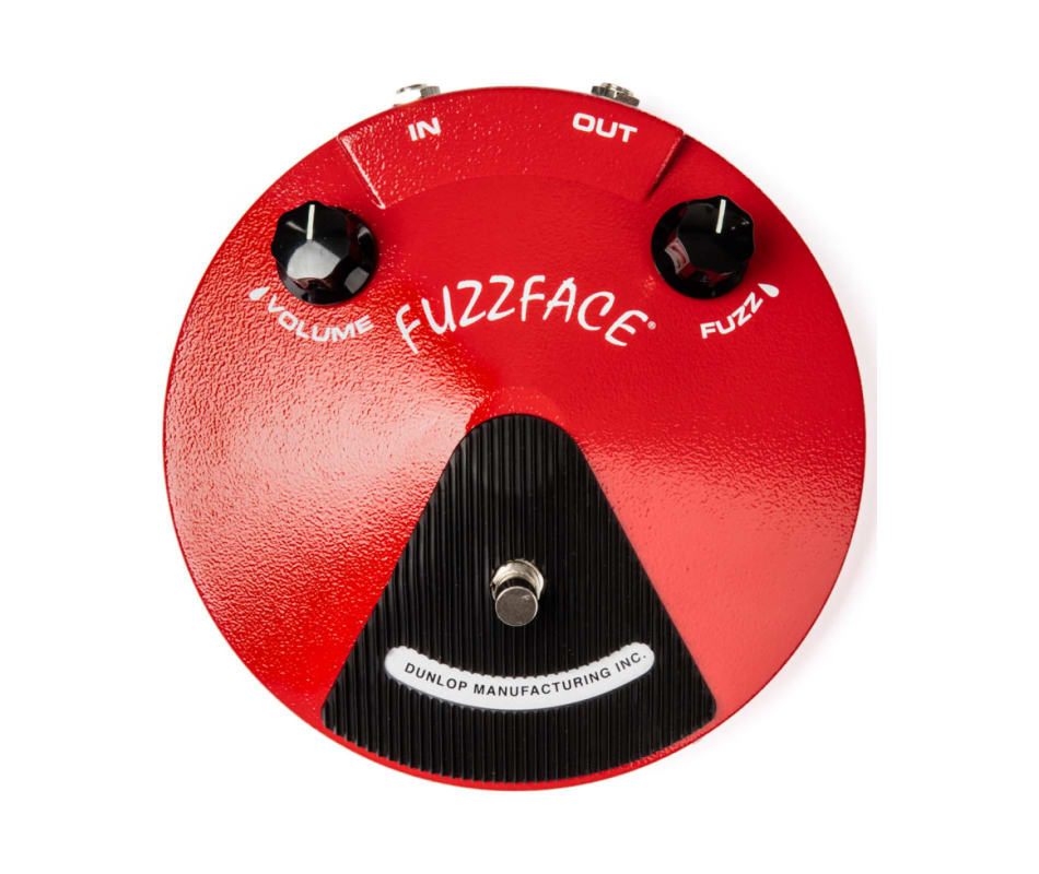 JDF2 Fuzz Face Distortion Pedal