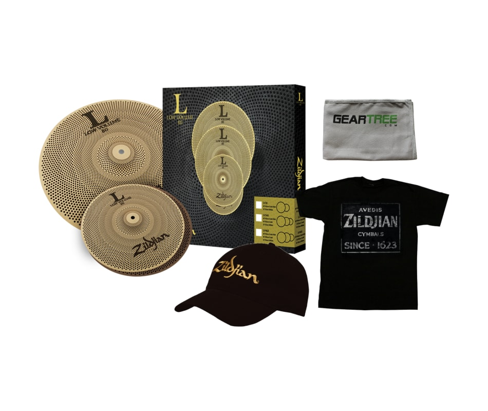 Zildjian LV38 LOW VOLUME L80 13/18 BOX SET w/ Hat,