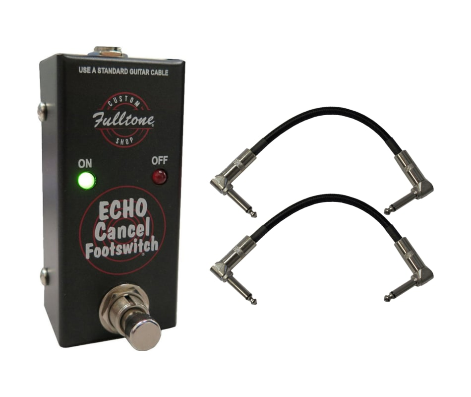Custom Shop CS-ECF Echo Cancel Footswitch Bundle