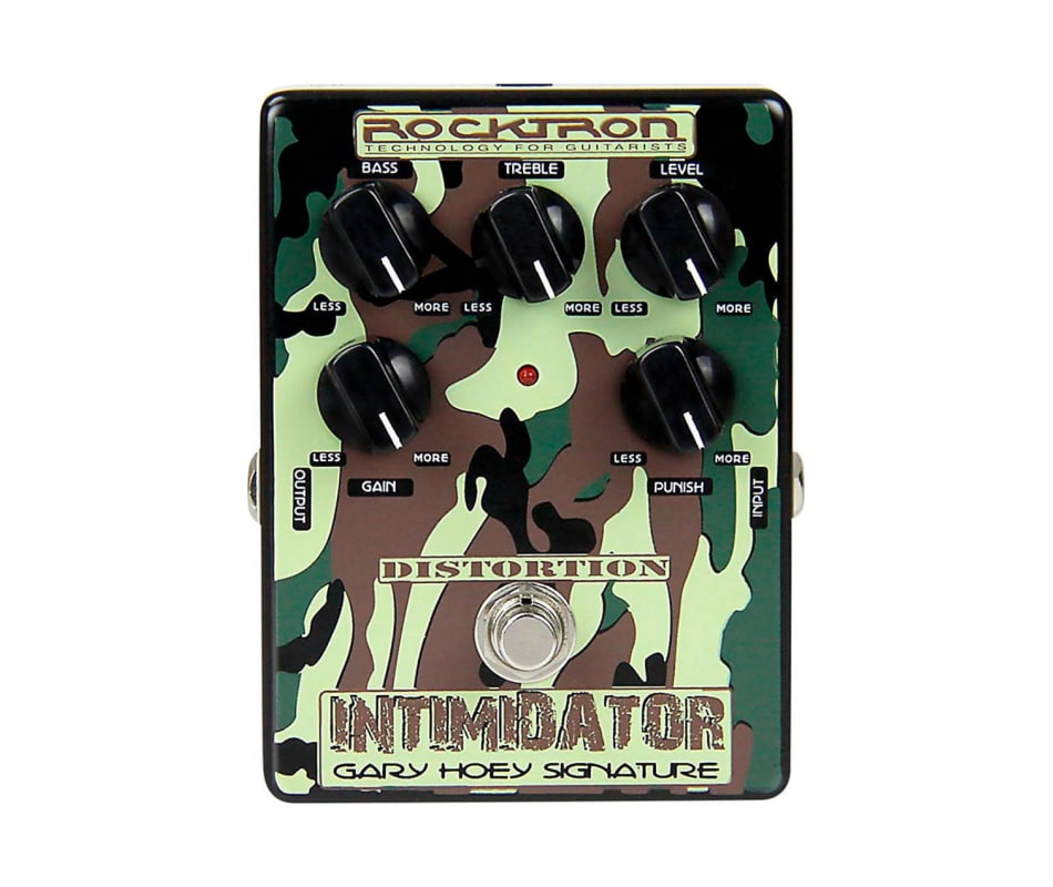 Gary Hoey Intimidator Distortion Effect Pedal