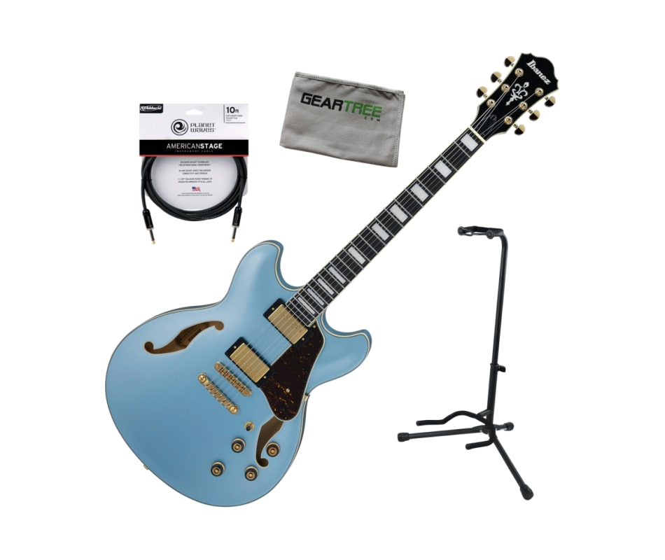 Ibanez AS83STE Steel Blue AS Artcore Expressionist