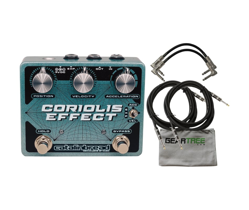 Catalinbread Coriolis Multi-Effects Pedal w/ Polis