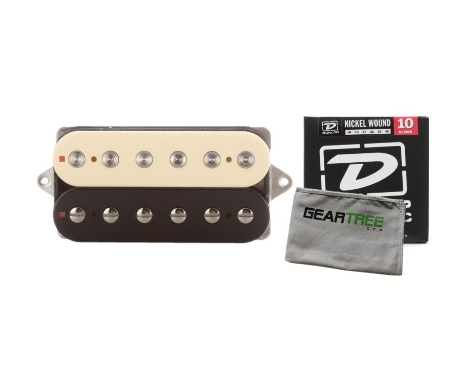 Suhr Thornbucker Plus Humbucker 50mm Zebra Bridge