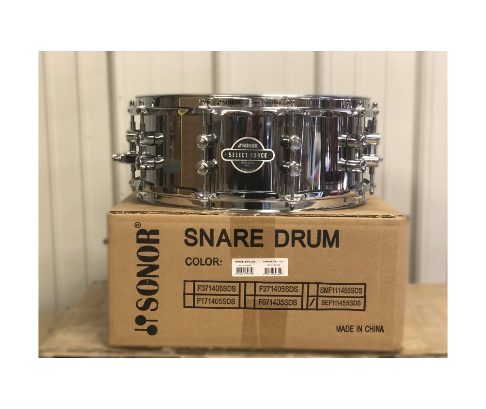 Sonor SEF-1455-SDS-C-ST Select Force 14 x 5.5 Stee