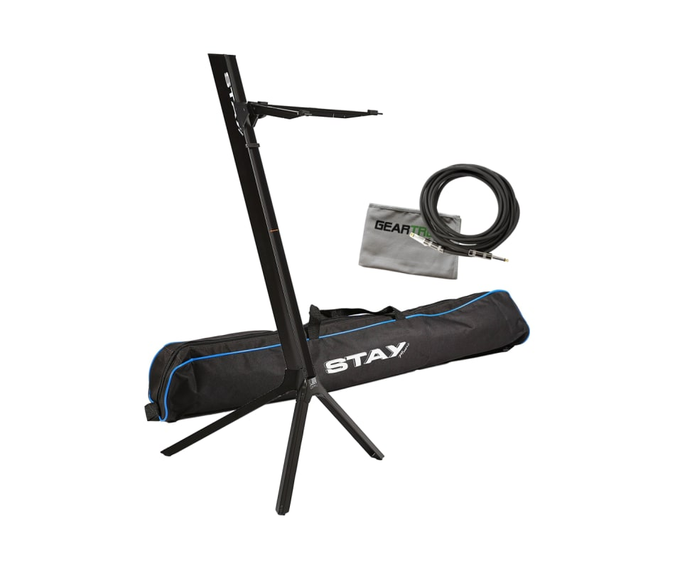 Stay STAY74 Slim 43 Single Tier Black Keyboard Sta