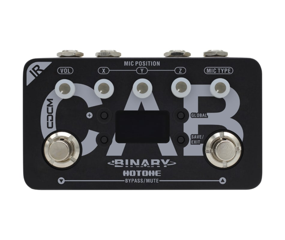 BIR-1 Binary IR Cab Effect Pedal