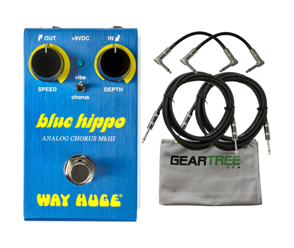 Way Huge WM61 Smalls Blue Hippo Analog Chorus Peda