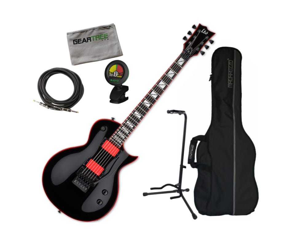 ESP LGH600BLK Gary Holt GH-600 Black Electric Guit