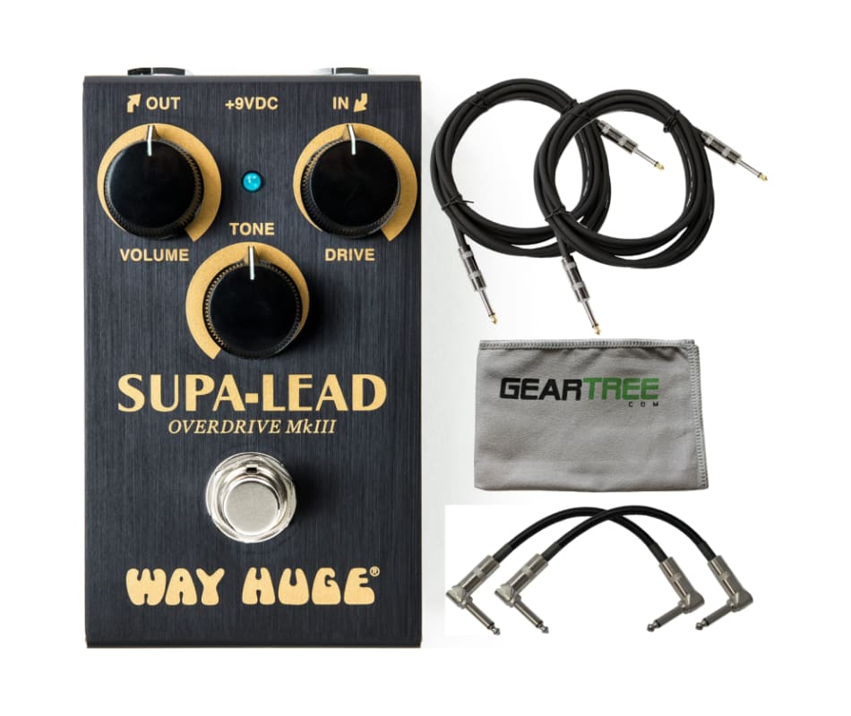 Dunlop WM31 WAY HUGE SMALLS SUPA-LEAD w/ Polish Cl