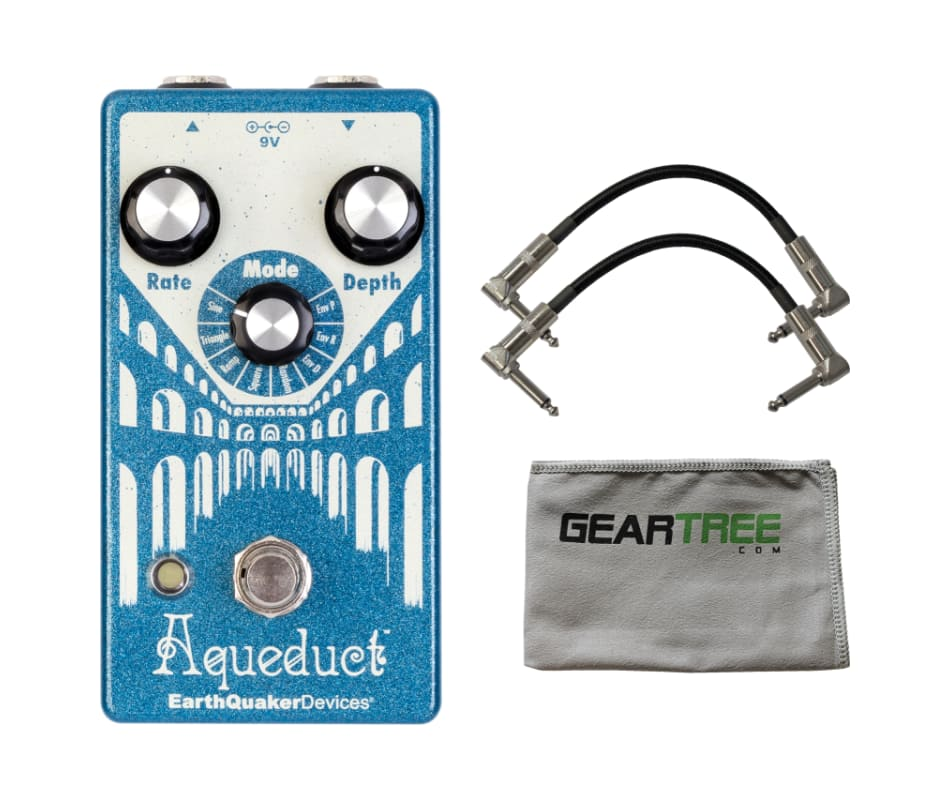 EarthQuaker Devices Aqueduct Vibrato Pedal w/ Clot
