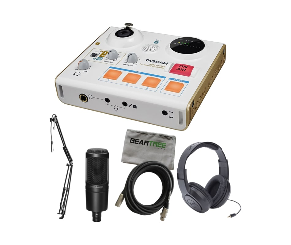MiNiSTUDIO Creator US-32 Podcasting Bundle