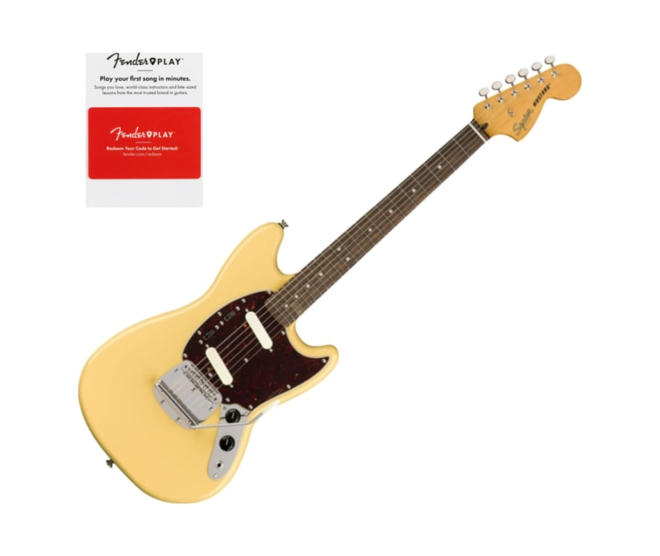 Squier 0374080541 Classic Vibe 60s Mustang, Laure