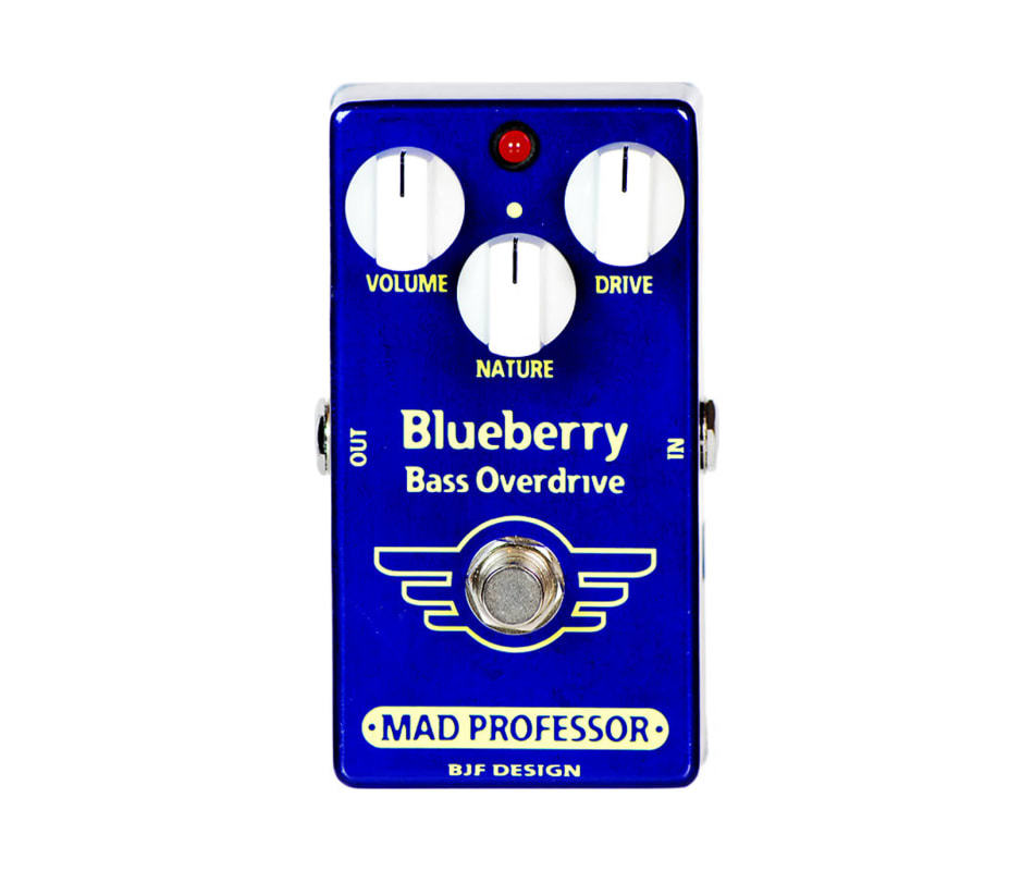 BlueBerry Bass Overdrive Effects Pedal
