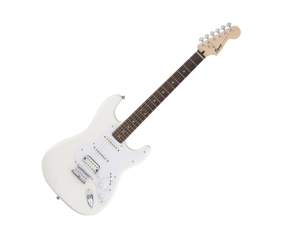 Squier Bullet Stratocaster HSS Hard Tail Arctic Wh