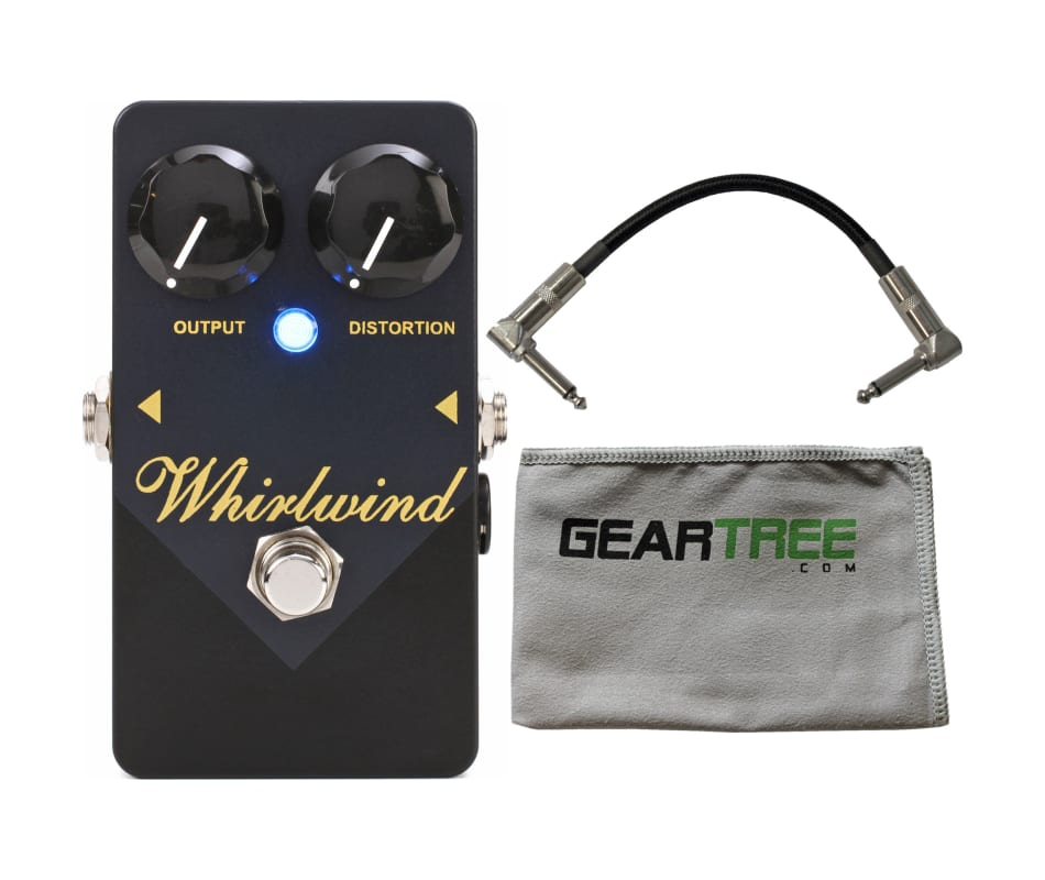 Whirlwind FXGLDP Gold Box Distortion Pedal w/ Cabl