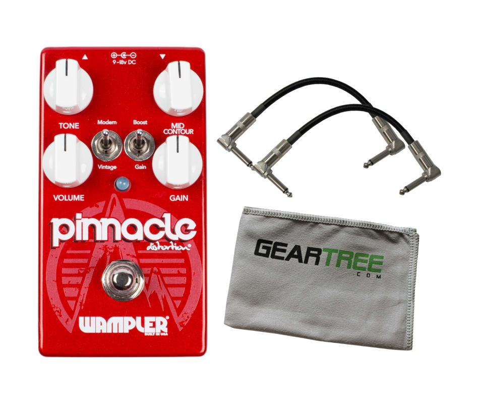 Wampler Pinnacle STANDARD Distortion Pedal UPDATED