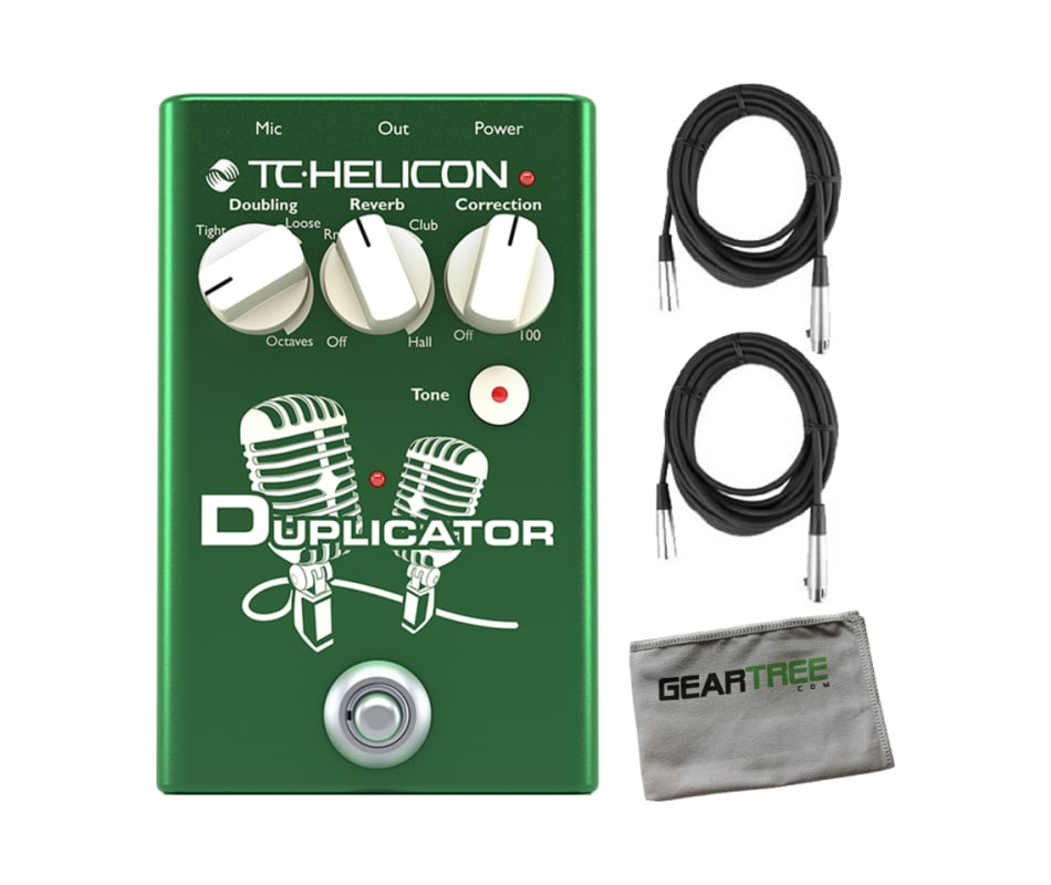Duplicator Vocal Effect Pedal Bundle