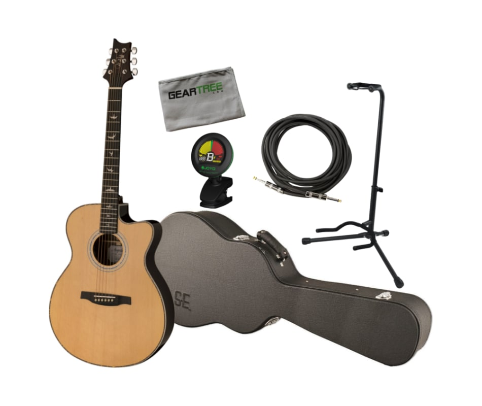 PRS SE A40E Angelus Natural Acoustic-Electric Guit