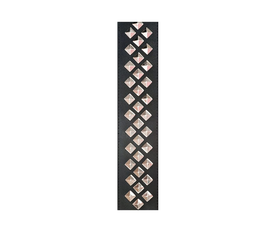 Metal Collectoin Leather Studded Guitar Strap
