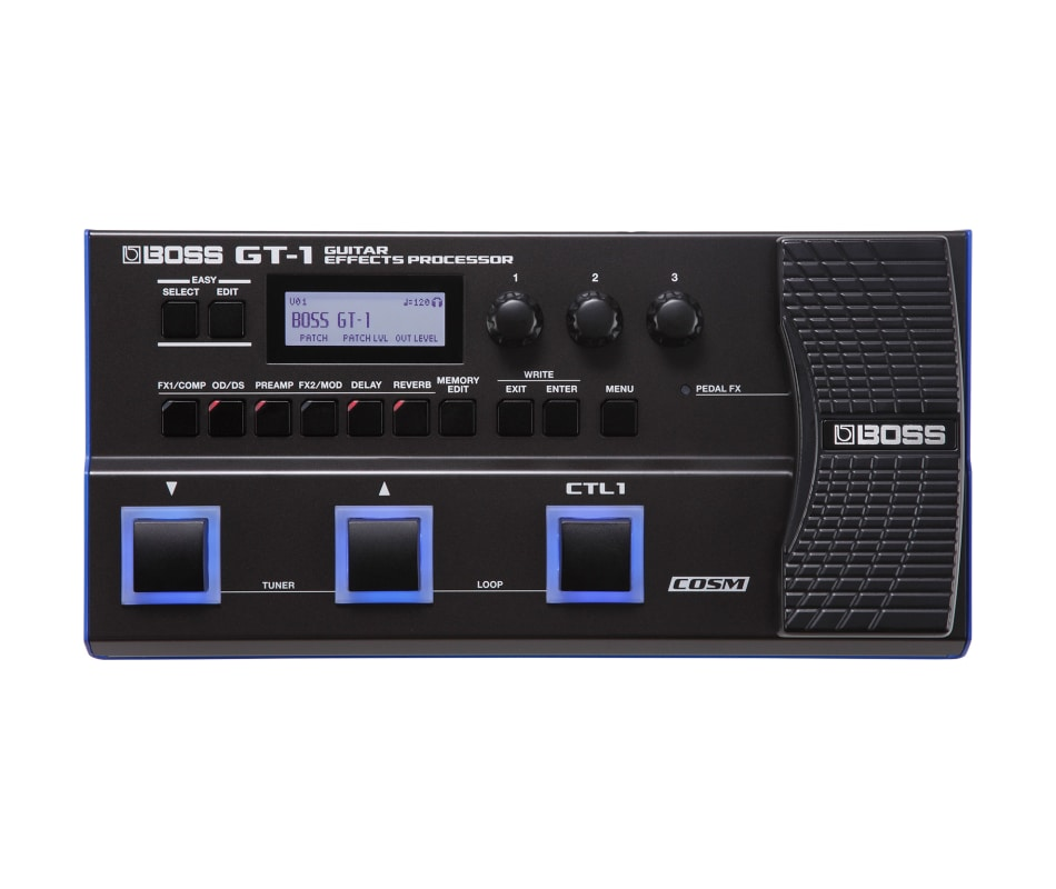 GT-1 Electric Guitar Multi-Effects Processor Pedal