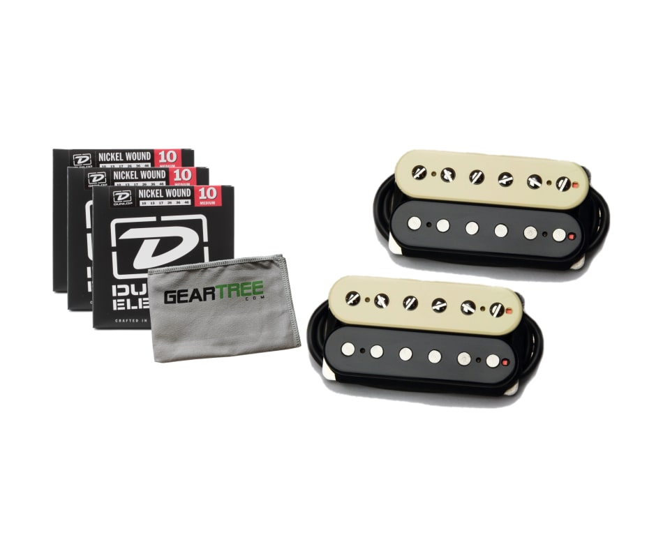 Bare Knuckle Pickups Old Guard Humbucker Zebra Ope