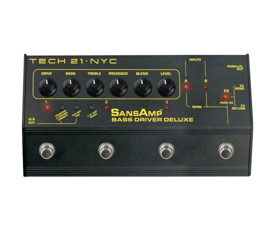SansAmp Bass Driver Deluxe Preamp/DI Pedal