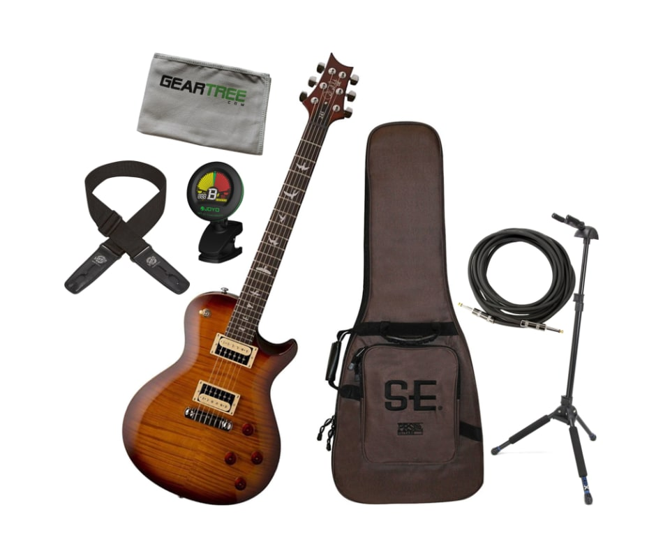 SE 245 Tobacco Sunburst Electric Guitar Bundle