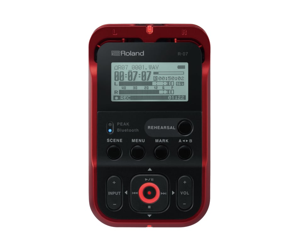 R-07 Compact Bluetooth Handheld Field Recorder