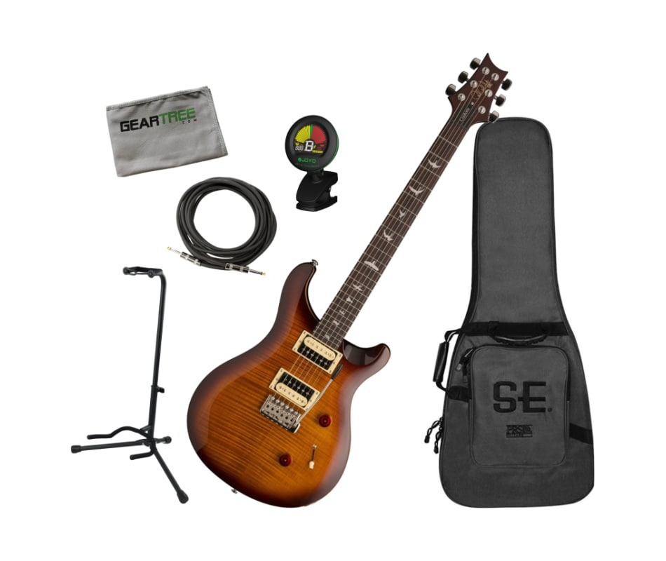 PRS SE Custom 24 Tobacco Sunburst Electric Guitar