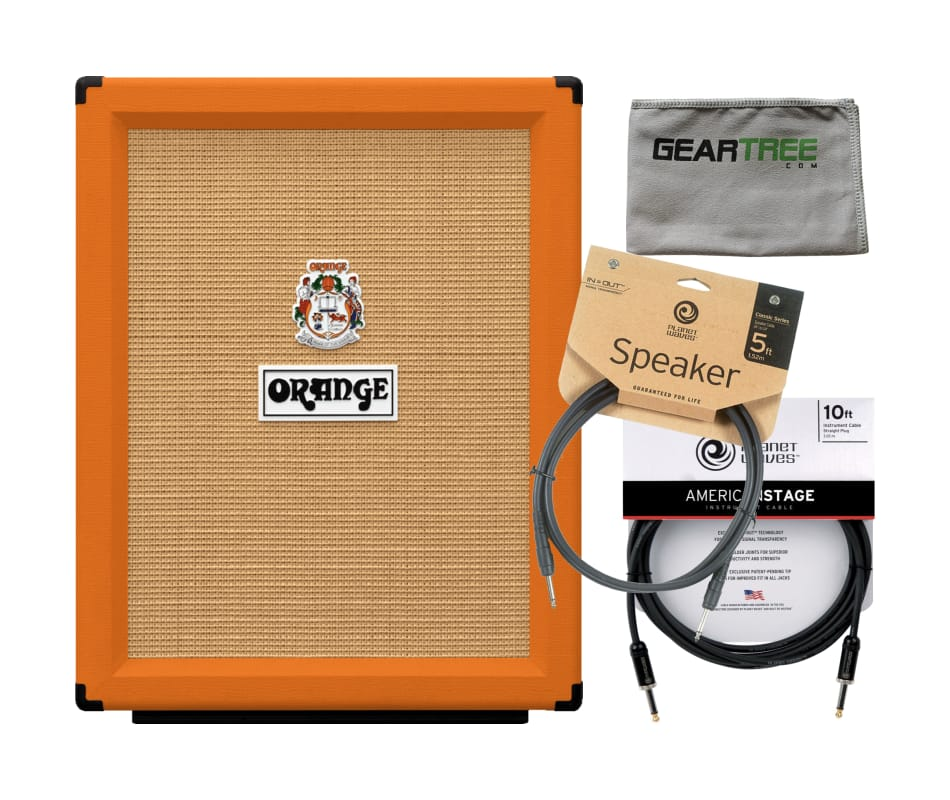 Orange PPC212V 2X12 Vertical Open Back Guitar Cabi