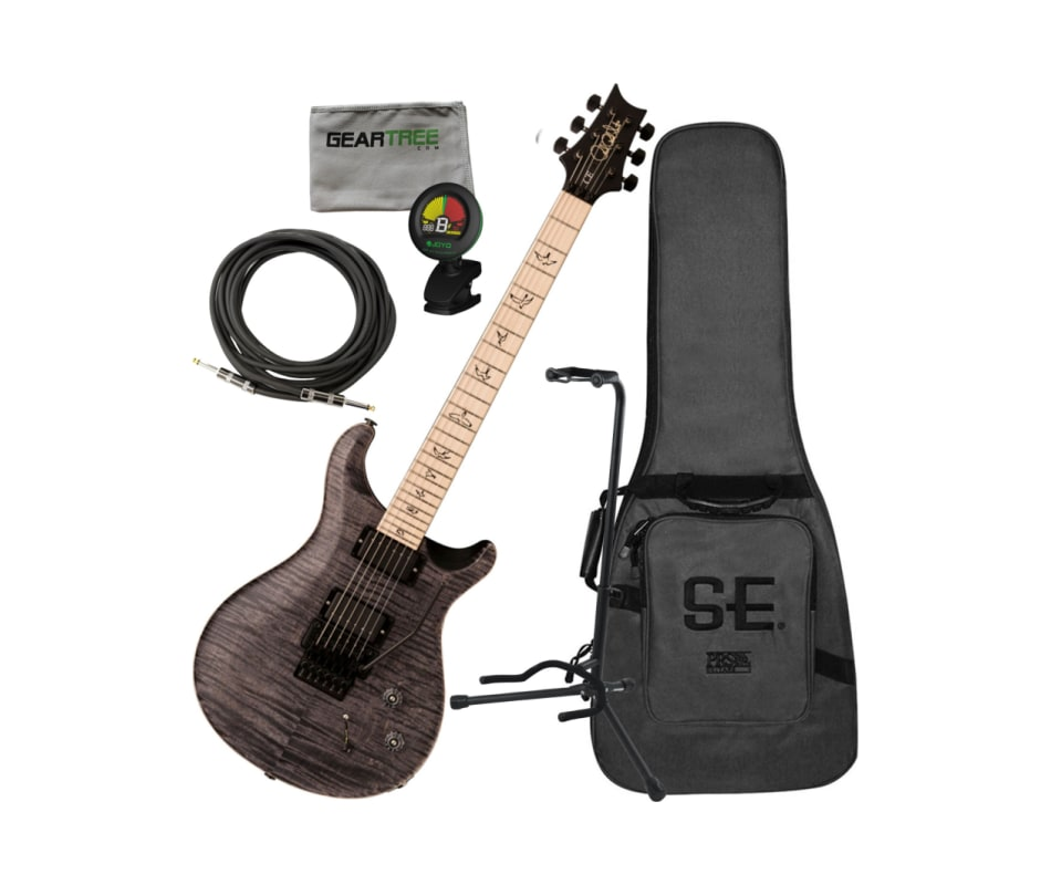 PRS DW CE 24 Floyd Limited Edition Grey Black Elec