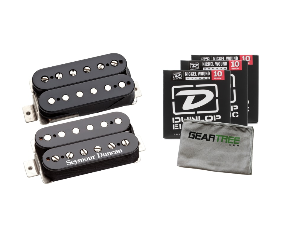 SH-PG1b Pearly Gates Black Bridge Pickup Bundle