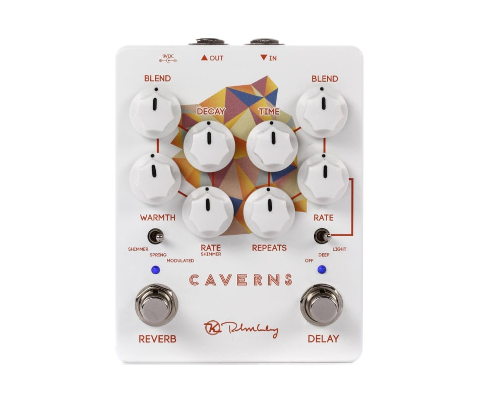 Caverns Delay Reverb V2 Guitar Effect Pedal