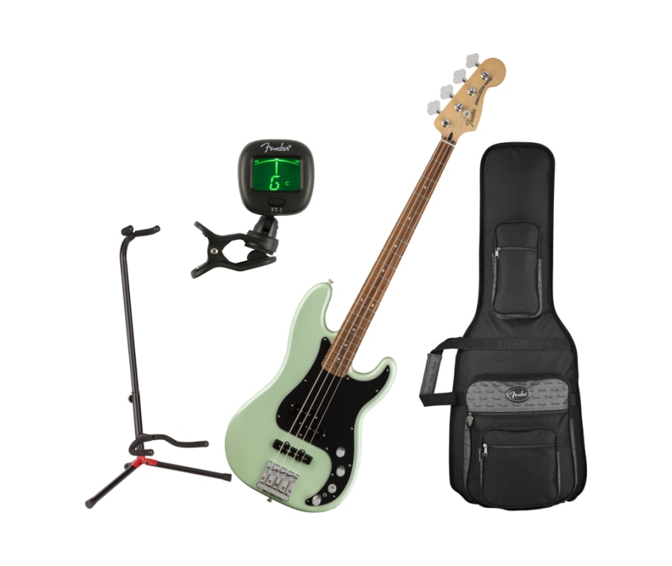 Deluxe Surf Pearl Active Precision Bass Bundle