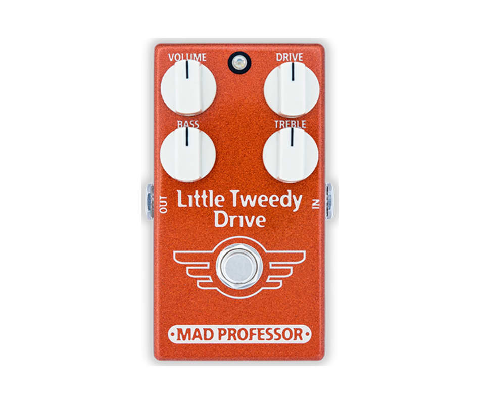 Little Tweedy Drive Effect Pedal