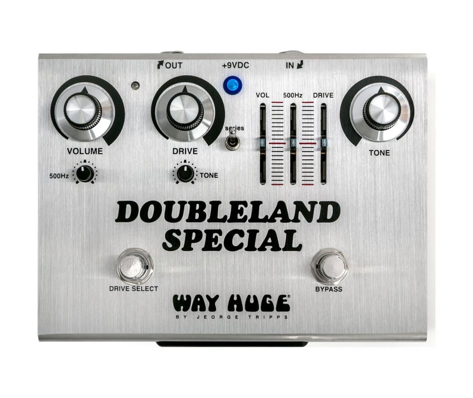 WHE212 Doubleland Special Ovedrive Effect Pedal